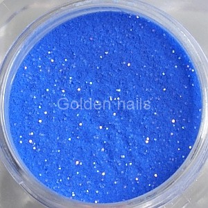 Dark blue acrylic powder with glitter 4g /059/